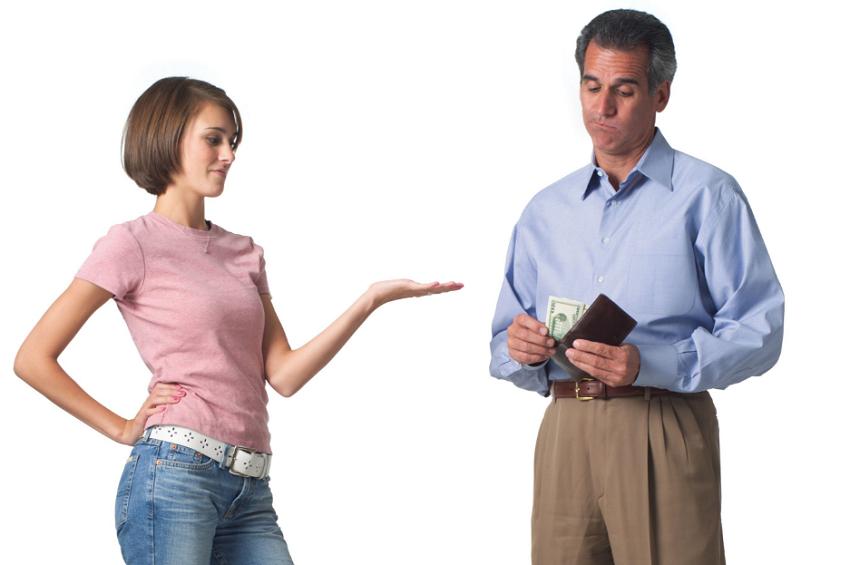 Взыскание алиментов с родителей на совершеннолетних детей