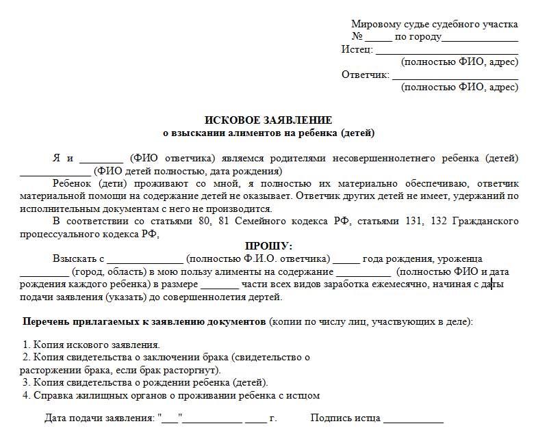 zayavlenie-na-alimenty-v-mirovoj-sud-obrazec-2019-blank